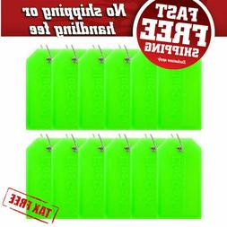 BlueCosto 12 Pack Luggage Tags Suitcase Tag Travel Bag Label