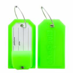 Bluecosto 2 Pack Luggage Tag Label Suitcase Tags Travel Bag