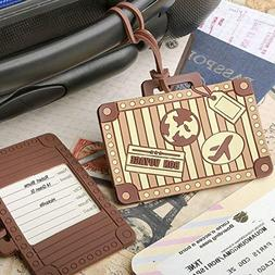 200 Suitcase Luggage Tag Vintage Travel Wedding Party Event