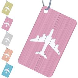 2Pcs Luggage Tag Label ID Baggage Business Suitcase Address