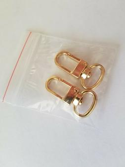 2x Luggage Tag Swivel Hook for Louis Vuitton ,Bag Charm, Nam