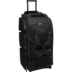 "Travelers Club Luggage 30"" Xpedition Multi-Pocket Rolling Du"