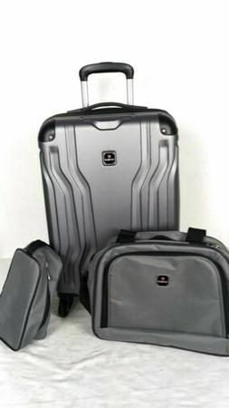 New TAG Legacy 20'' Carry On 3 Piece Hard-case Luggage Set S