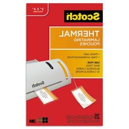 3M/COMMERCIAL TAPE DIV TP585325 Luggage tag size thermal lam