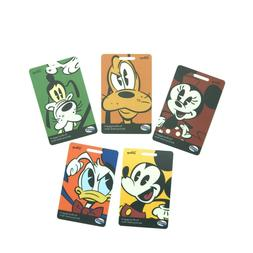 5 NEW Walt Disney American Tourister Luggage Tags w/Straps