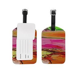 Abstract Colors Colours Colorful Bright PatternSuitcase Lugg
