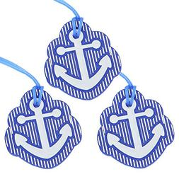 Anchor Luggage Tags, Travel Suitcases Identifiers Labels, Si