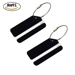 Baggage Luggage Tags, Identifiers Labels For Travel Suitcase