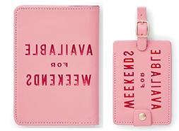 Bando Passport Holder with Luggage Tag Available for Weekend
