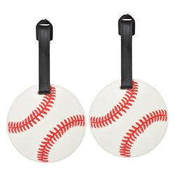 Baseball Sports Fan Luggage Tag Travel ID for Suitcases - Se