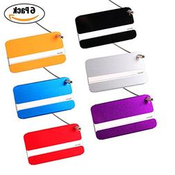 Bulk Baggage Luggage Tags, Identifiers Labels For Travel Sui