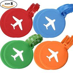 Bulk Luggage Tags, Identifiers Labels For Travel Suitcases,