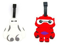 CellDesigns Big Hero 6 Baymax Luggage Tag with Adjustable St