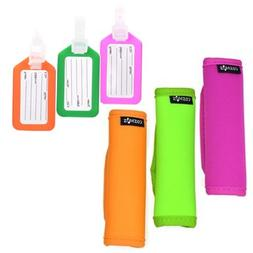 Cosmos ® 3 PCS Neoprene Handle Grip for Travel Bag Suitcase