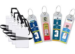 Cruise Luggage Tag Holder Zip Seal & Steel - Royal Caribbean