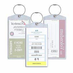 Cruisetags, Standard Cruise Ship Luggage Tags
