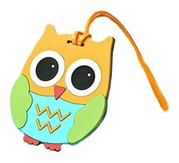 Fashioncraft Cute and practical owl design luggage tags