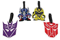 Finex Set of 4 Transformers Optimus Prime Bumblebee Travel L