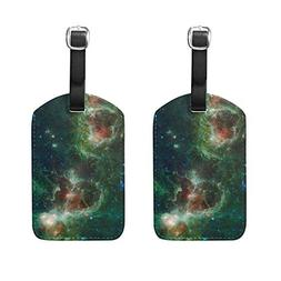 FEIER-custom Luggage Tag Cosmos Nebula Star Field Travel Acc