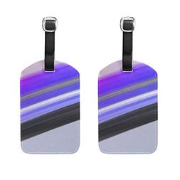 Gorgeous Cool Bright Pattern Pu Leather Id Tags Business Car