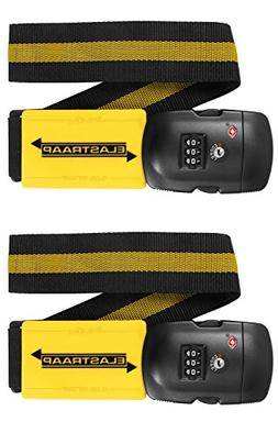 Luggage Strap ELASTRAAP Superior Strength NON-SLIP with TSA
