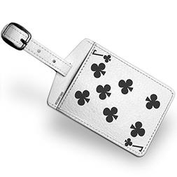 Luggage Tag clubs Seven - Seven / card game - NEONBLOND