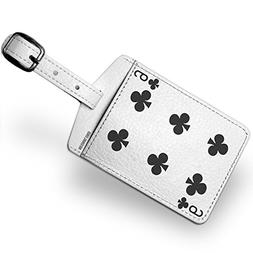 Luggage Tag clubs Six - Six / card game - NEONBLOND