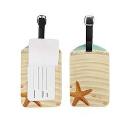 Luggage Tags Cute Ocean Sea Beach Starfish Travel Baggage Ta
