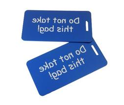 Luggage Tags, Do Not Take This Bag, Luggage Tag Set, Airline