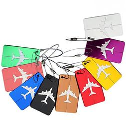 Luggage Tags, Lance Home Baggage Suitcases Bags Tag, Random