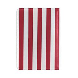 Novelty US American Flag Passport Holder PU Leather Cover ID