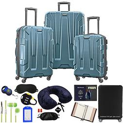 Samsonite Centric 3-Piece Nested Luggage Set with Accessory