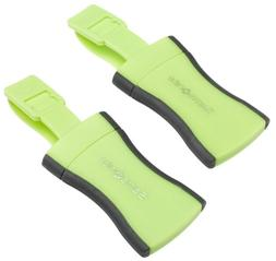 Samsonite Security ID Luggage Tags, Set of 2, Green