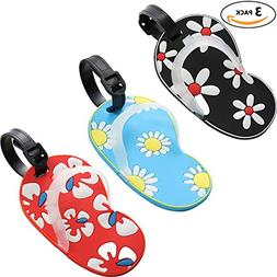 Slipper Luggage Tags, Travel Suitcases Identifiers Labels, S