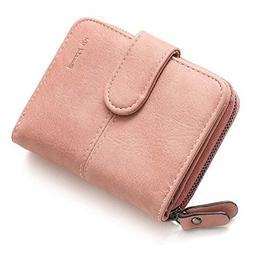 Toping Fine Leather Women Short Wallets Ladies Fashion Small