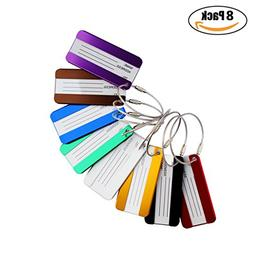 Travel Luggage Tags, Identifiers Labels For Baggage Suitcase