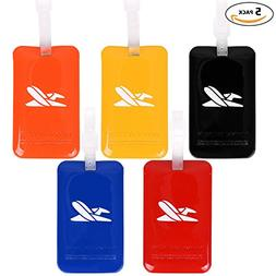 Travel Luggage Tags - Identifiers Labels For Suitcases - Bul