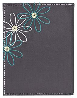 Travelon Safe Iddaisy Passport Case, Pewter