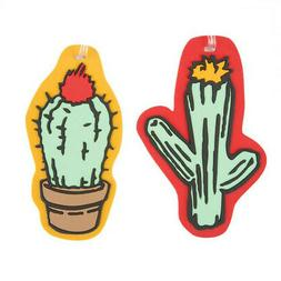 Travelon Set of 2 Novelty Luggage Tagscactus, Cactus