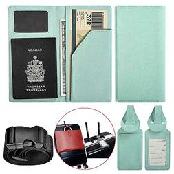 XeYOU Travel Wallet & Passport Holder Soft Leather Passport