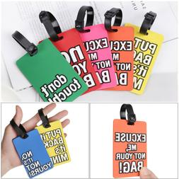 Accessories Portable Creative Letter Travel Tag Baggage Hold
