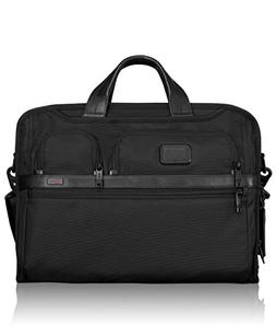 TUMI - Alpha 2 Compact Large Screen Laptop Brief Briefcase -