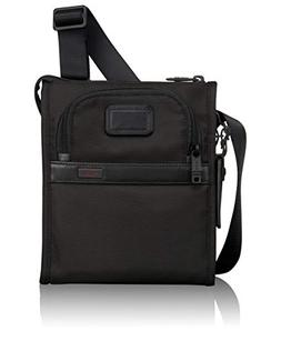Tumi Alpha 2 Pocket Bag Small Black - Tumi Designer Handbags