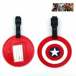 Avengers Captain America Luggage Tag Travel ID Addres Baggag