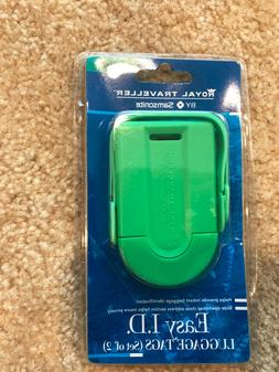 Brand New Samsonite Luggage 2 Pack ID Tag Green One Size  -