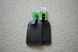 Travel Smart by Conair Leather Tags