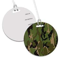Camoflauge Bag Luggage ID Tag