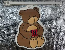 Child/Baby Bear Luggage Suitcase Bag ID Tag  with locking st