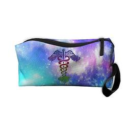 Colorful NURSE Gift Travel Toiletry Bag Makeup Pouch Bag Han