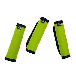Gracallet Pack of 3 Comfort Light Green Neoprene Handle Wrap